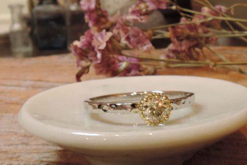 手作り プロポーズ 指輪