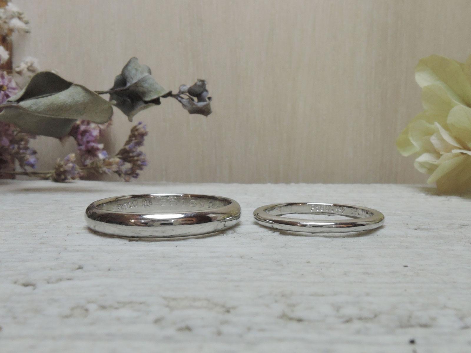 甲丸 手作り指輪