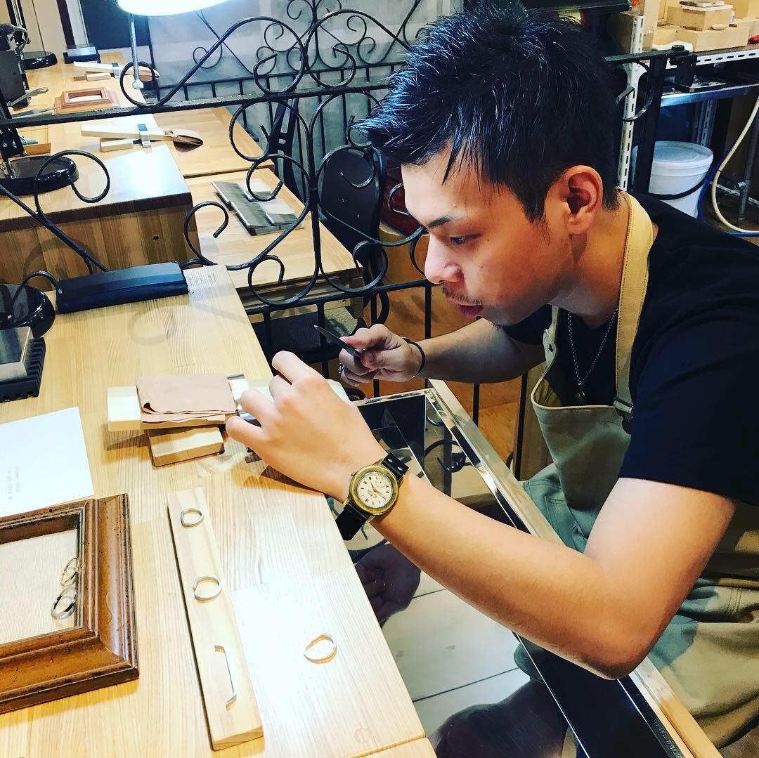 男性 指輪 手作り
