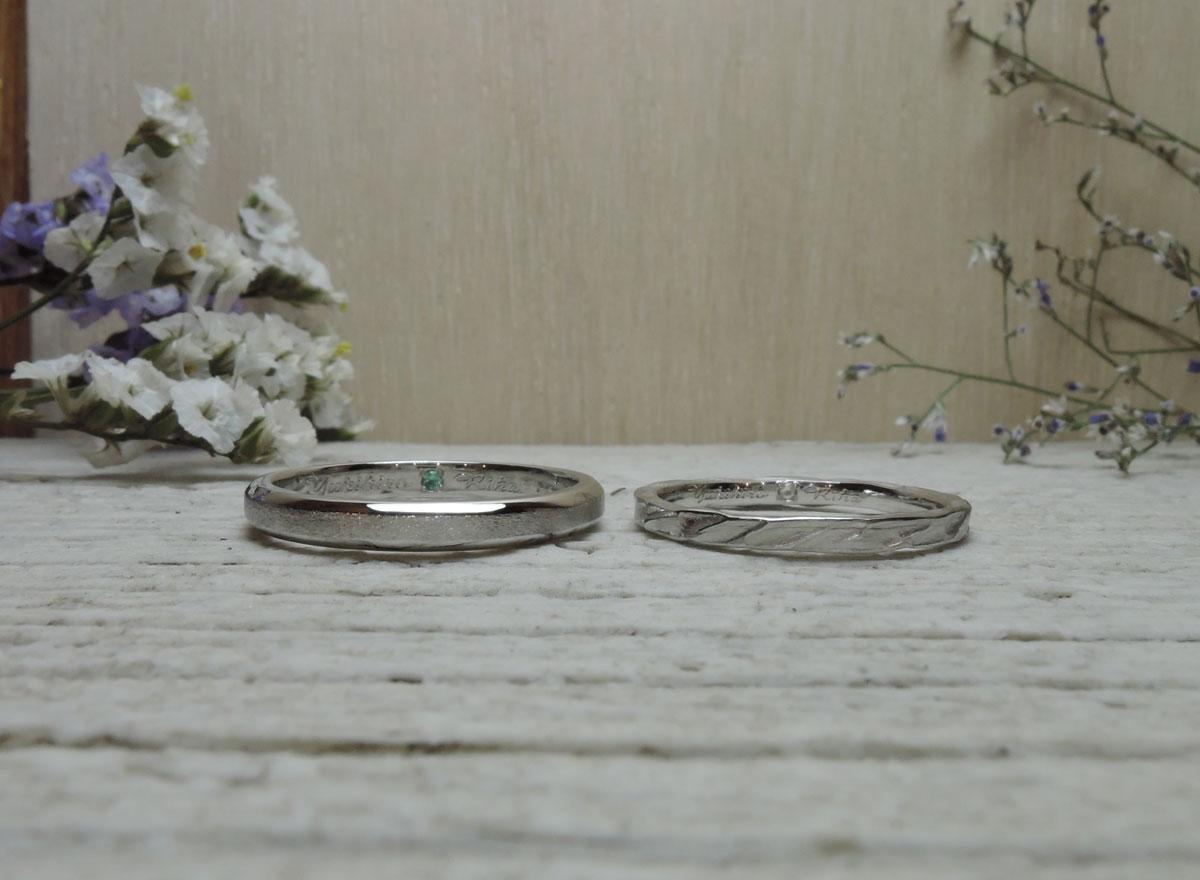 ハンドメイド 結婚指輪 福岡
