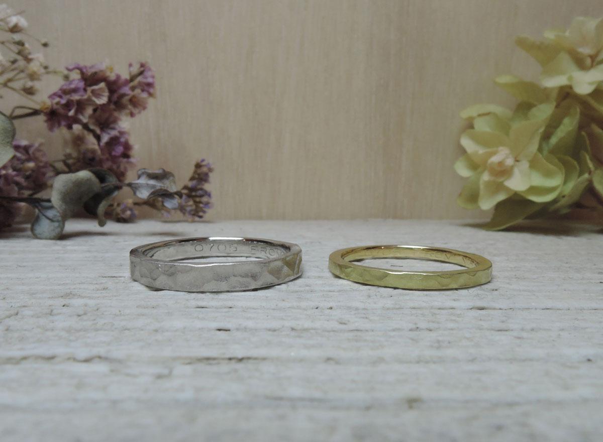 つちめ 指輪