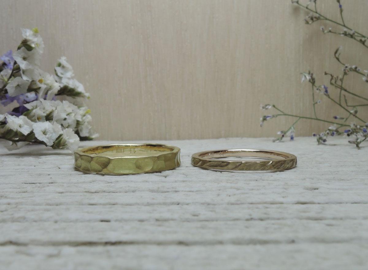 結婚指輪 手作り 佐賀