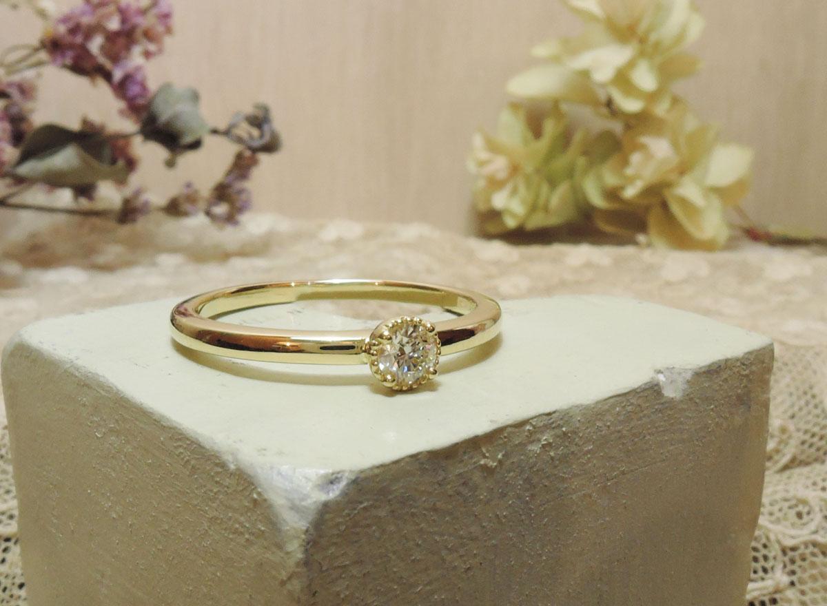 婚約指輪 手作り