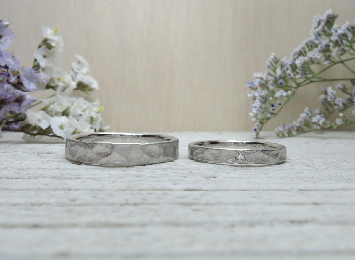 ダイヤ付 結婚指輪 福岡