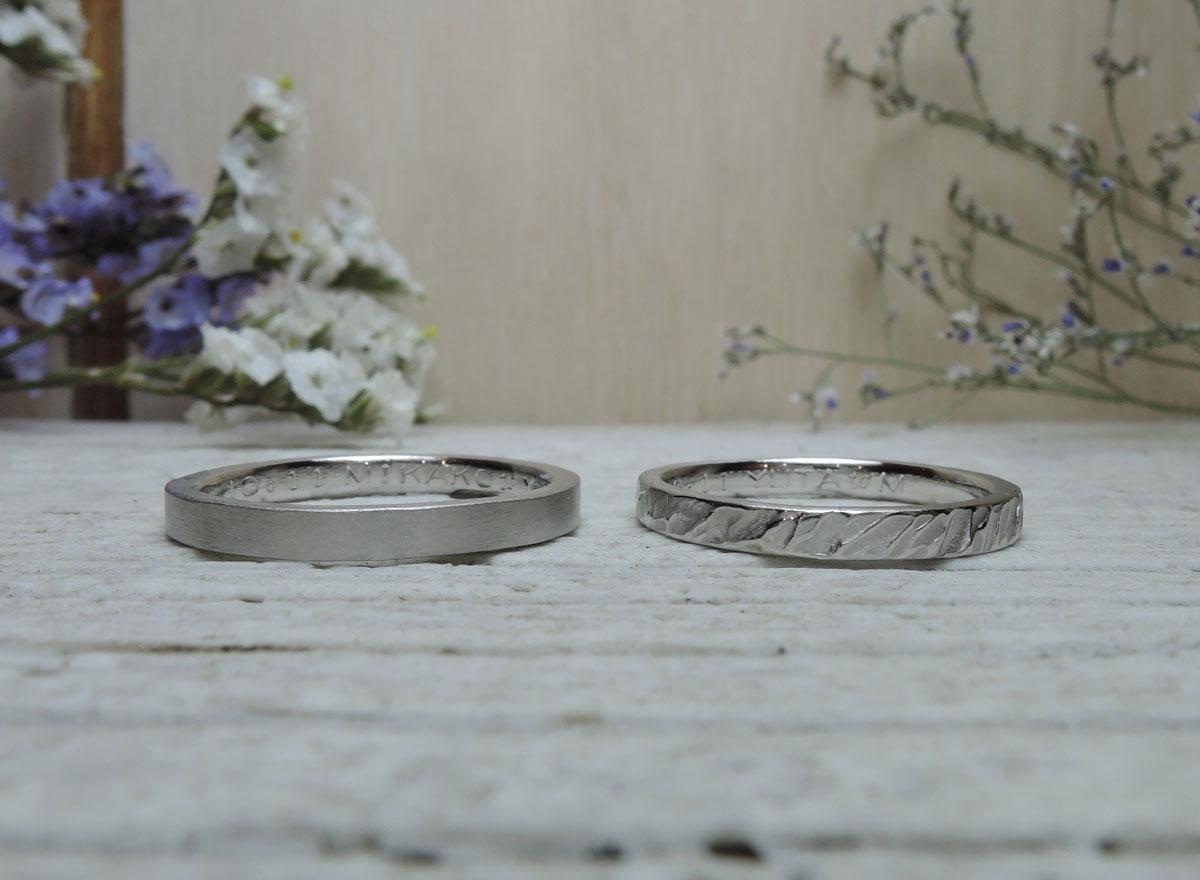 手作り結婚指輪 自分で 福岡