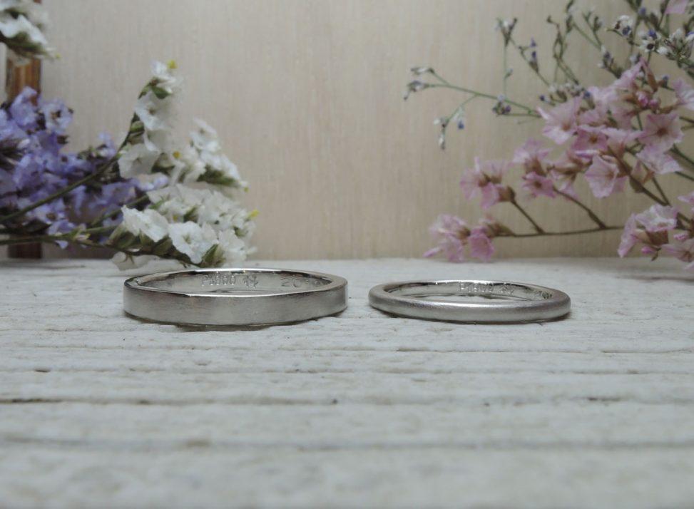 シンプルな指輪 DIY