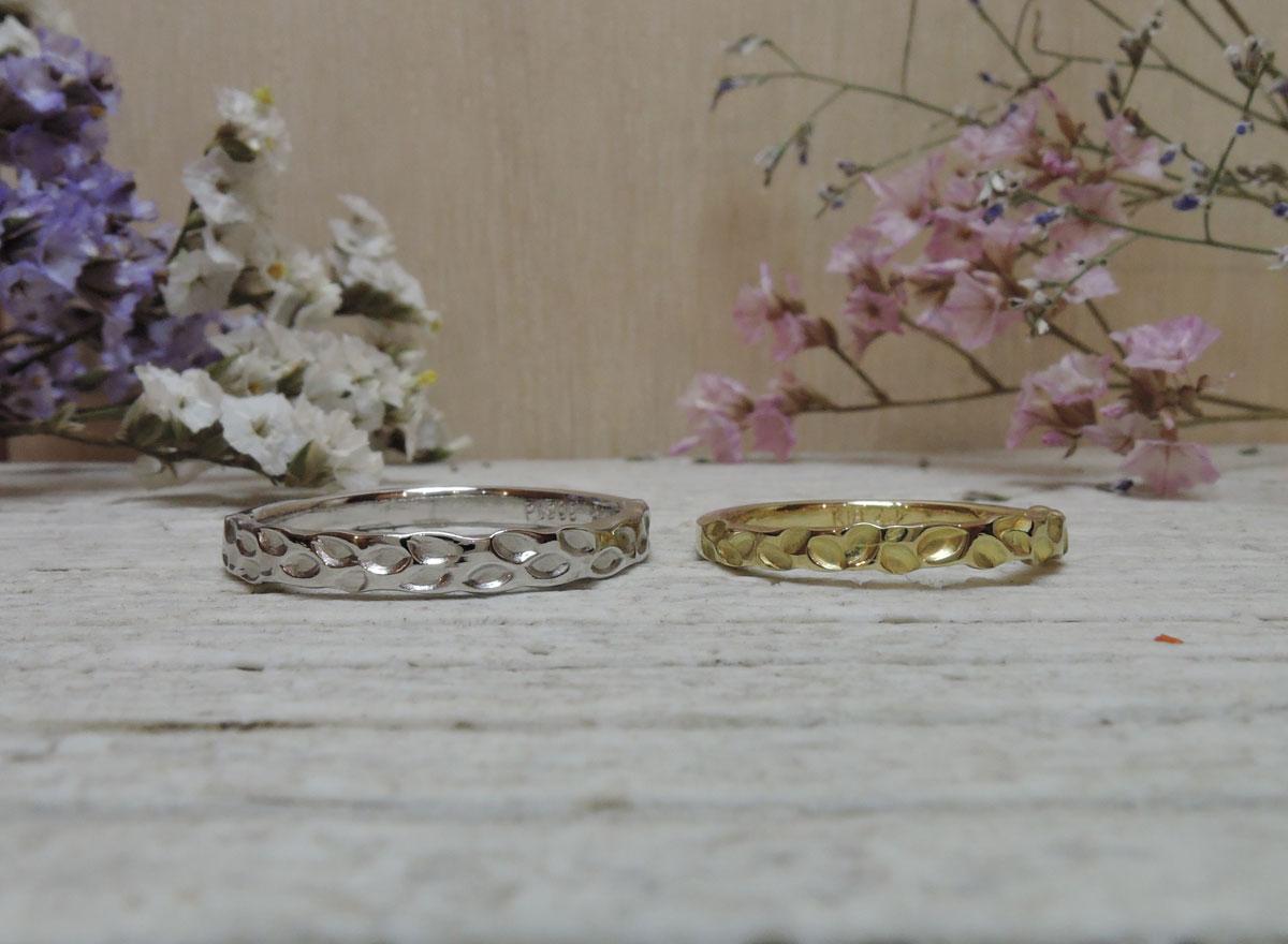 月桂樹 指輪 手作り