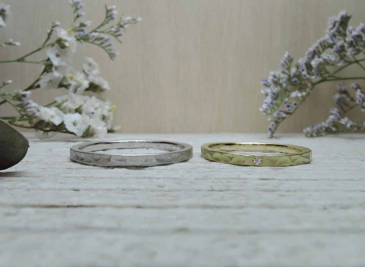 幅1.5ミリ 手作り指輪