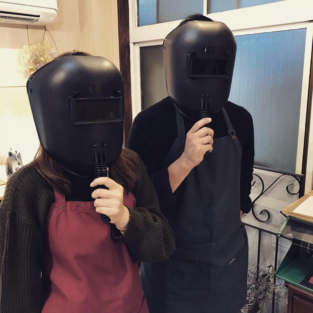溶接作業 マスク
