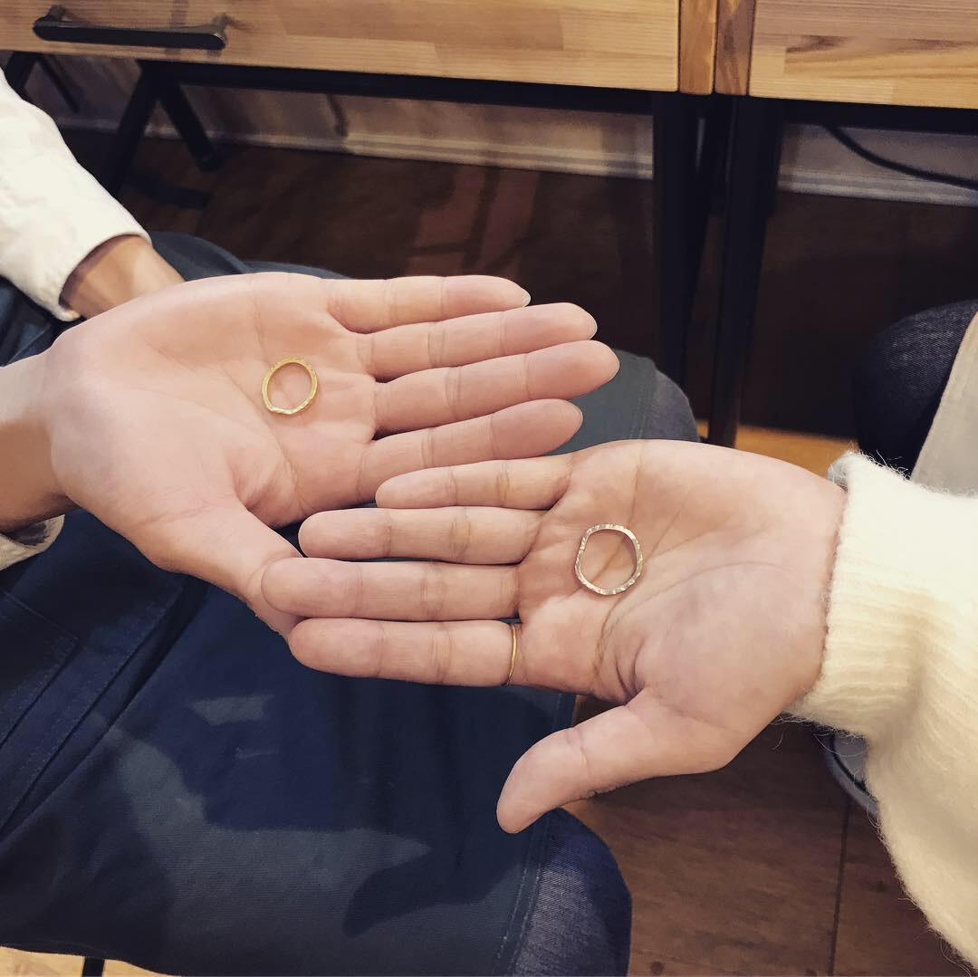 自分たちで結婚指輪 作る