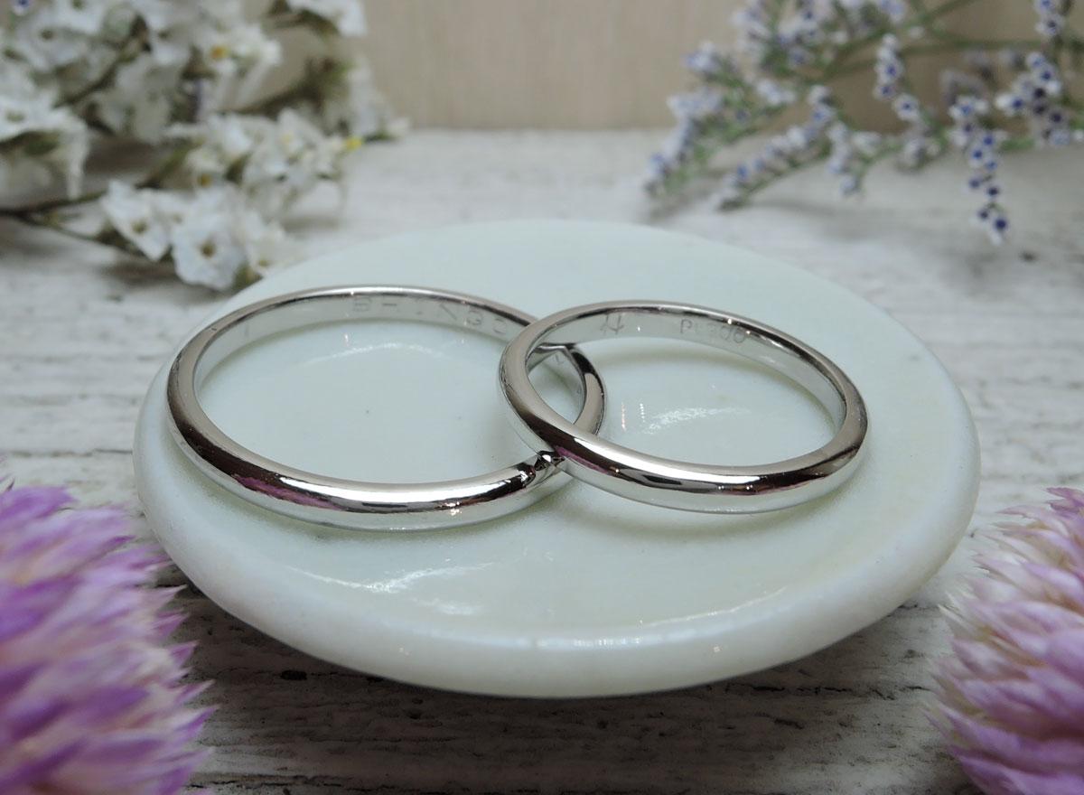 シンプル 手作り 結婚指輪