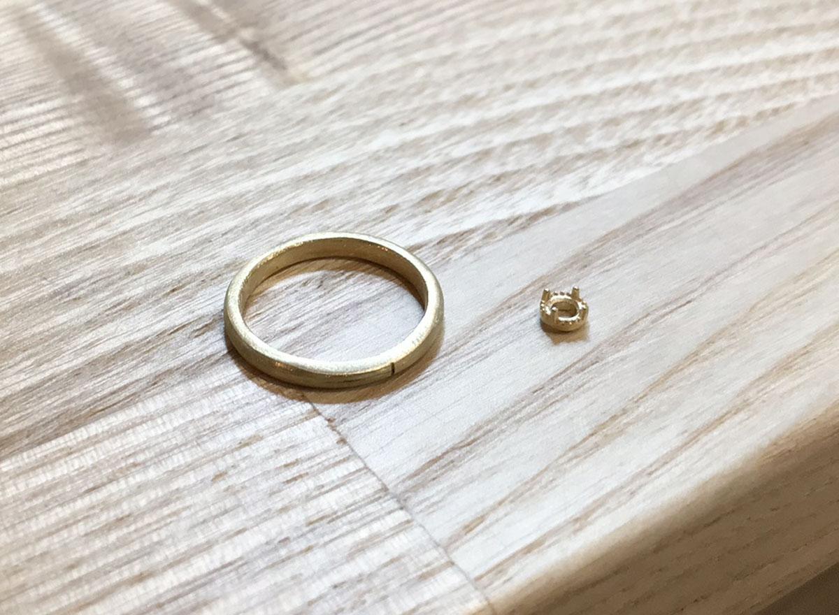 製作 婚約 指輪
