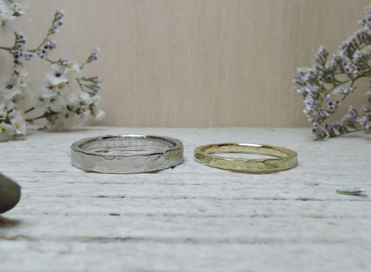 タガネ 使い分け 指輪