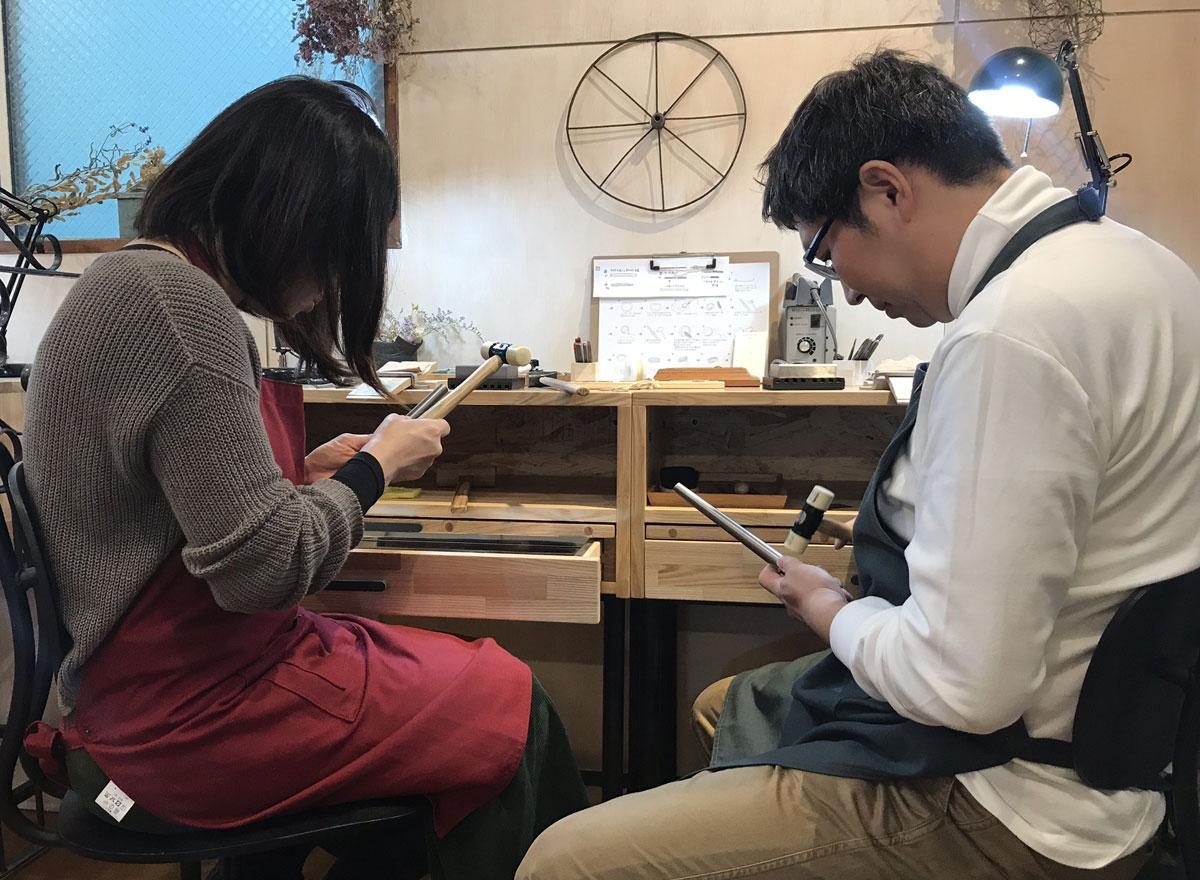 2人で作る結婚指輪 長崎