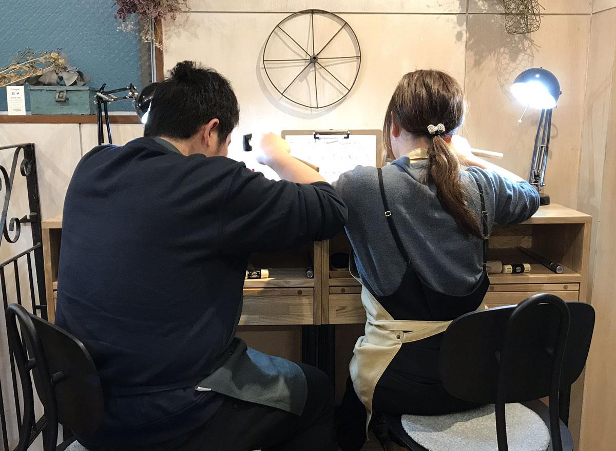 結婚 指輪 飯塚 手作り