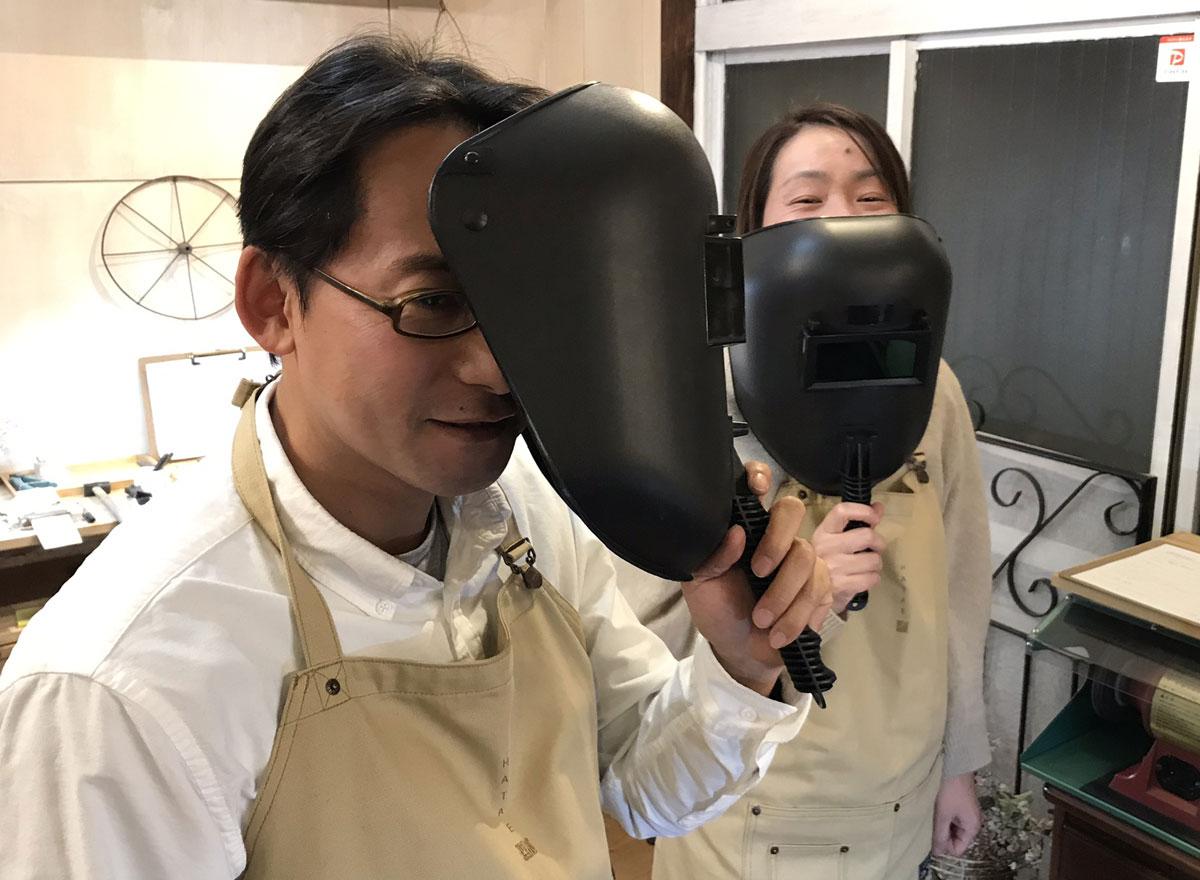 溶接する 保護マスク