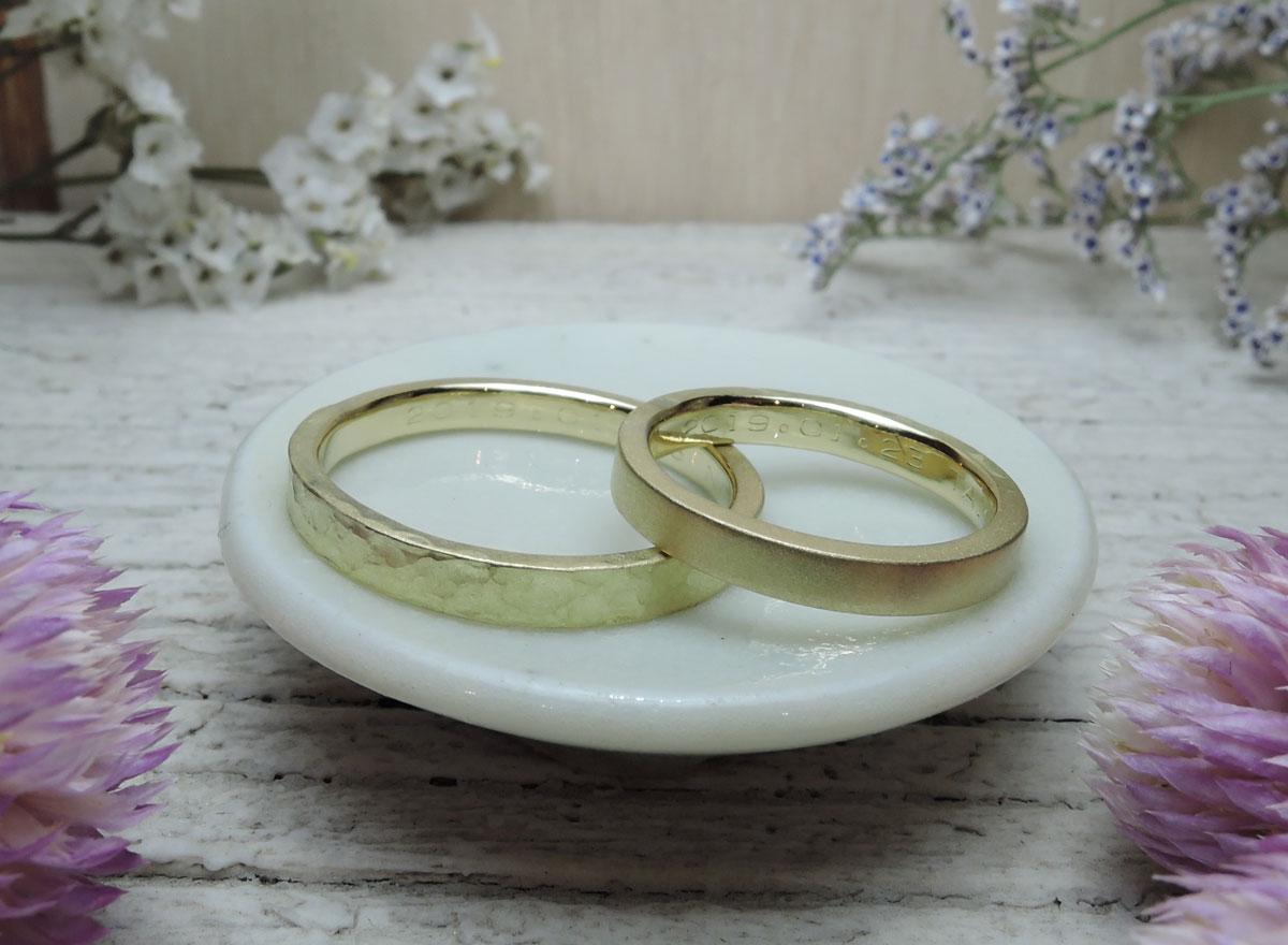 つや消し 結婚指輪 福岡