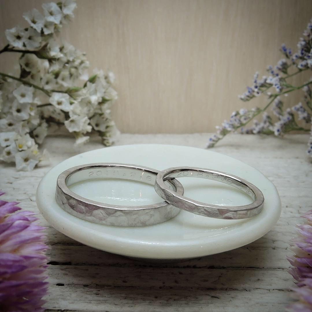 つちめ 結婚指輪