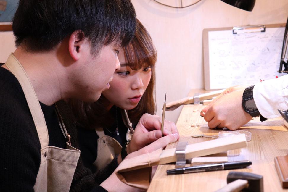 結婚指輪 手作り 広島