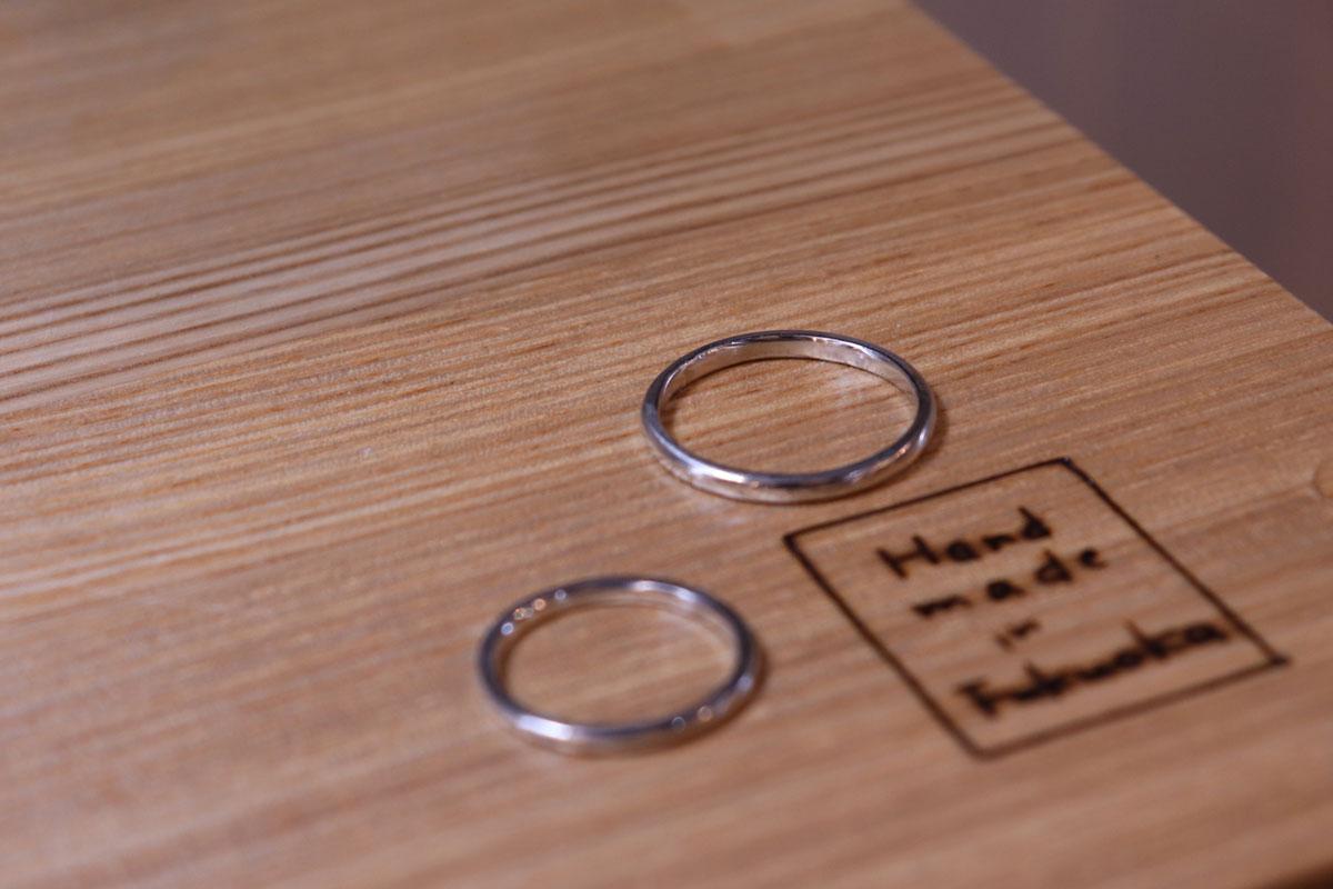 手作り結婚指輪 広島