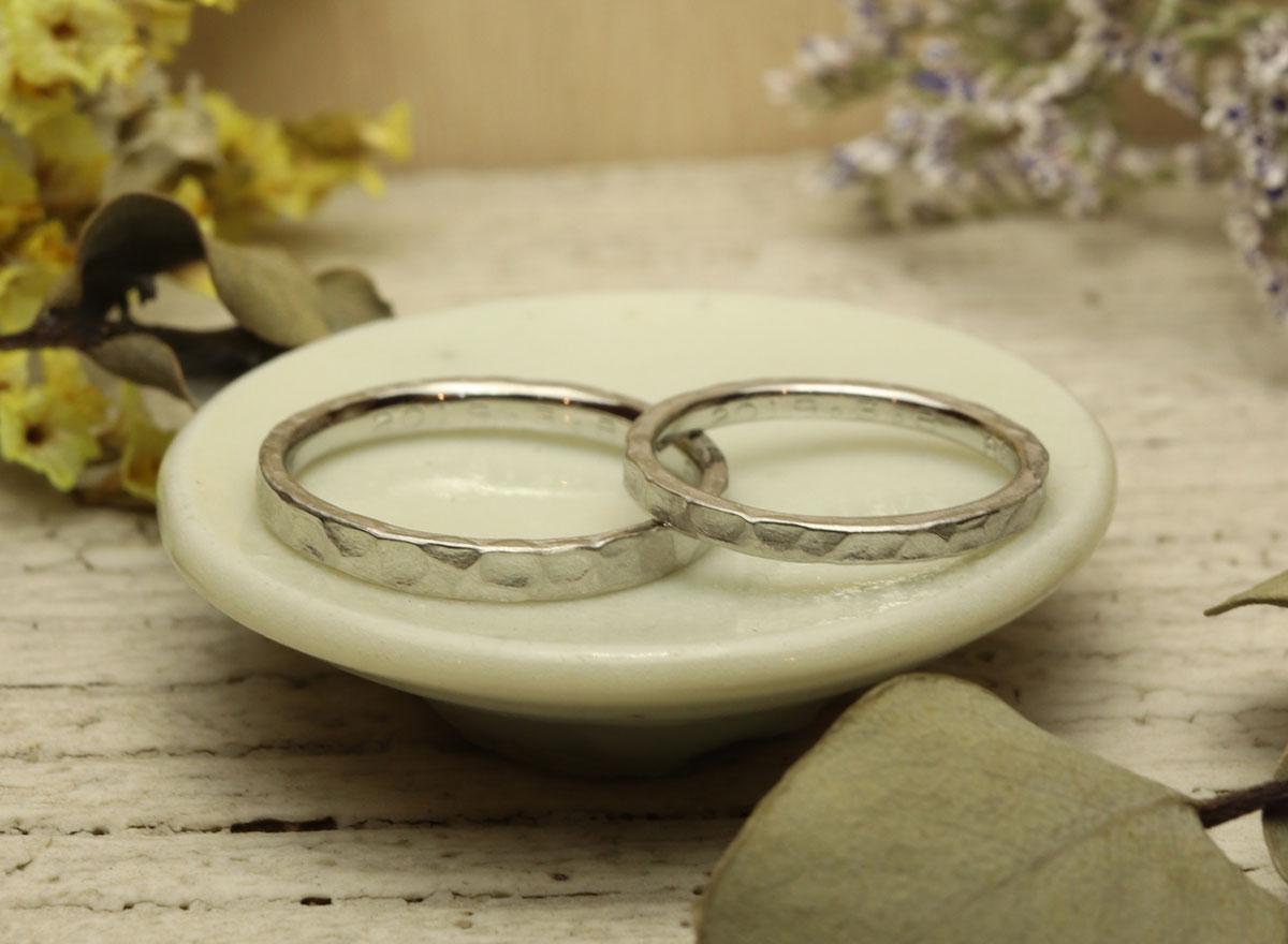 指輪 手作り つちめ