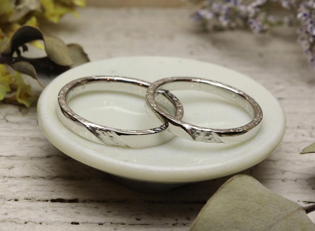 すりだし 手作り 指輪