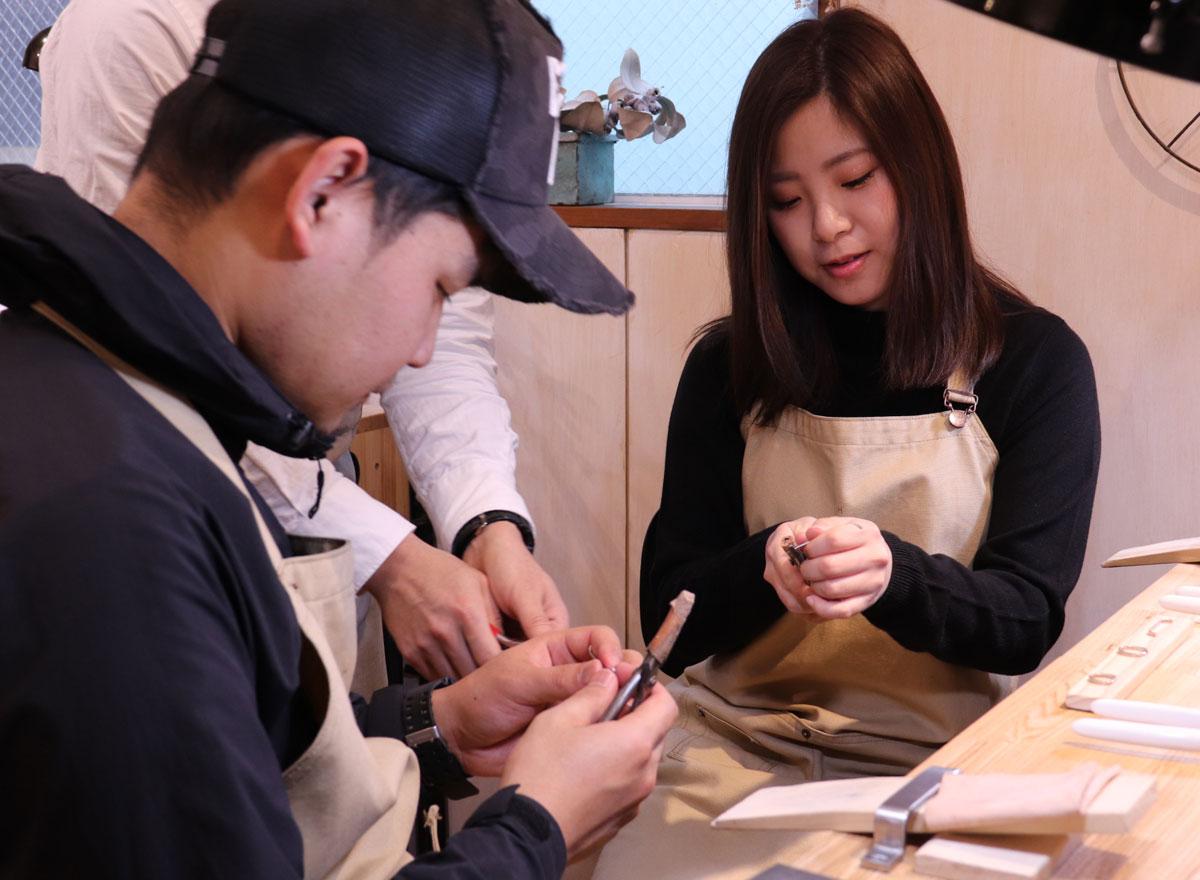 手作り結婚指輪 佐賀