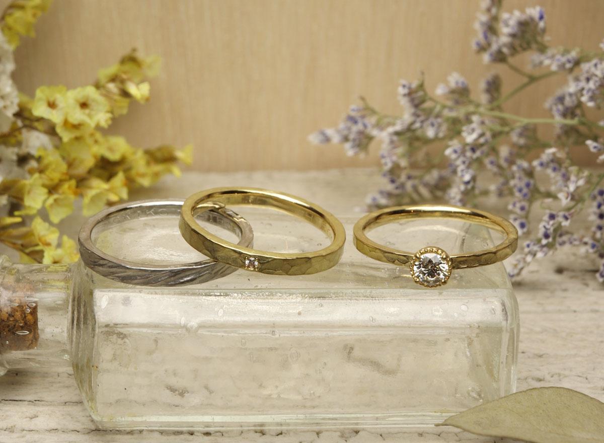 婚約指輪 飯塚 結婚指輪