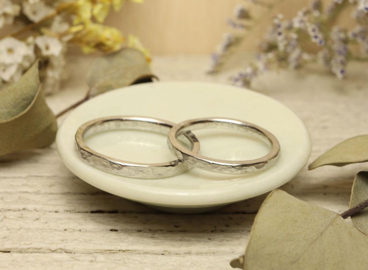 プラチナ 指輪 DIY