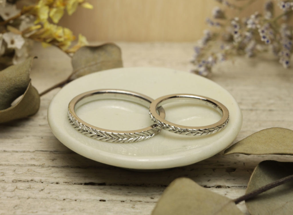 縄目 結婚指輪