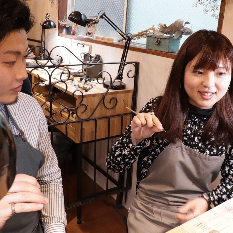 手作り 結婚指輪 熊本