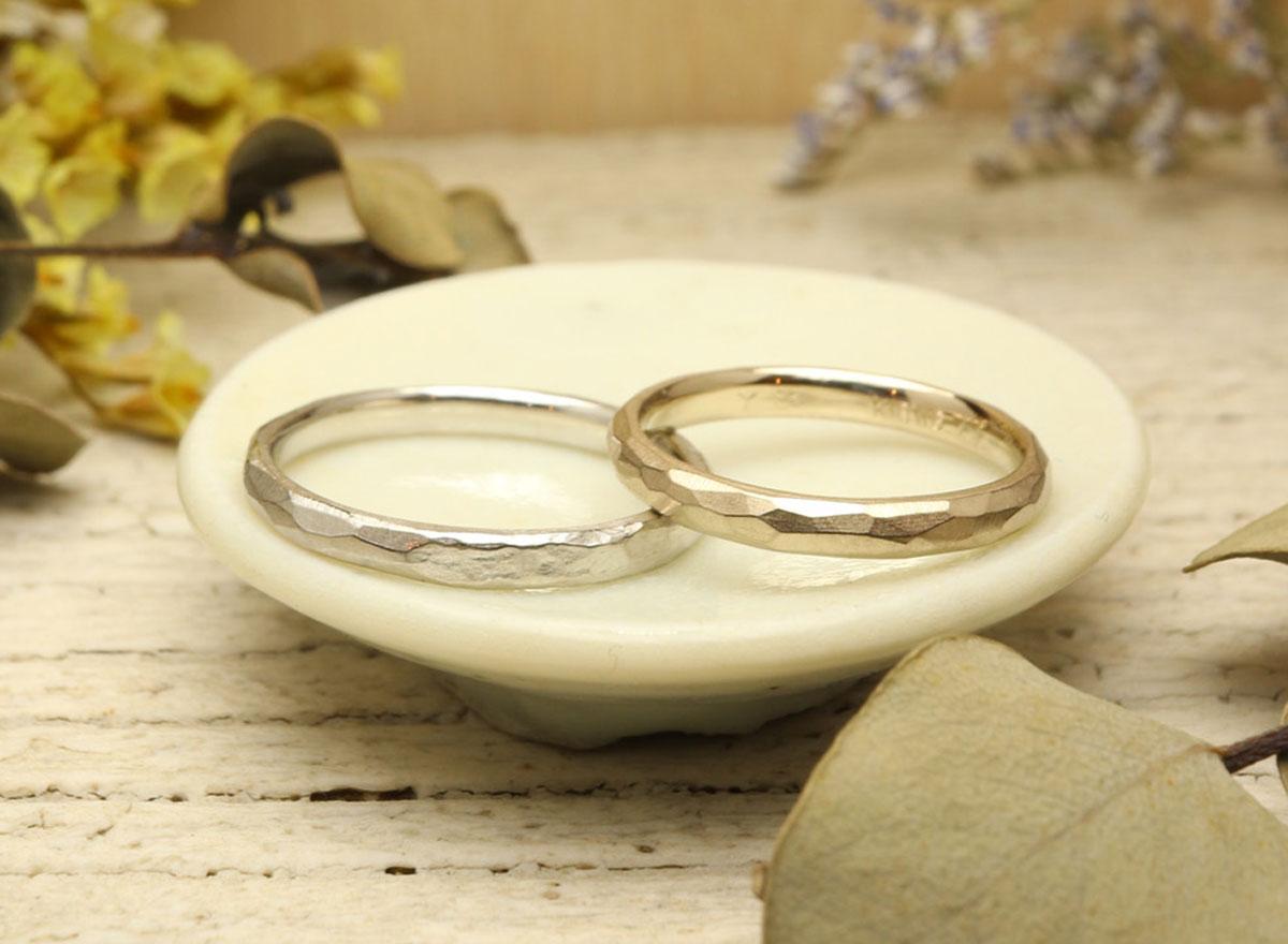 結婚指輪 手作り 熊本