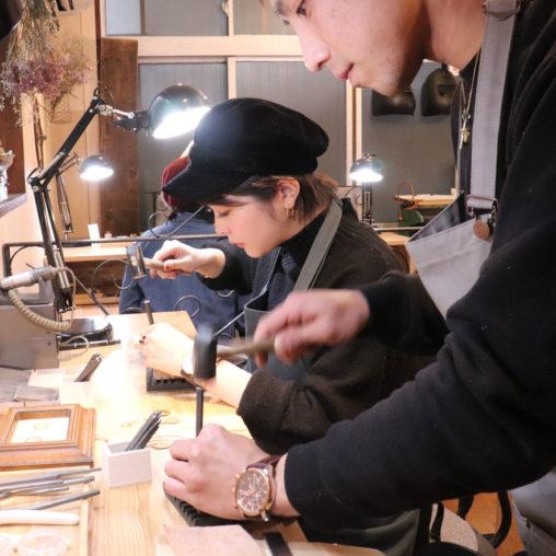 結婚指輪 手作り 長崎から