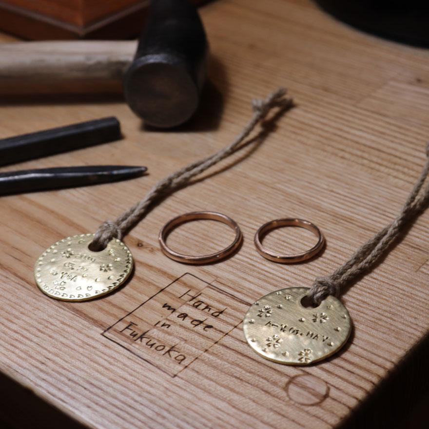真鍮 プレート 手作り