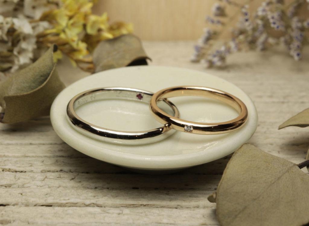 結婚指輪 手作り 久留米