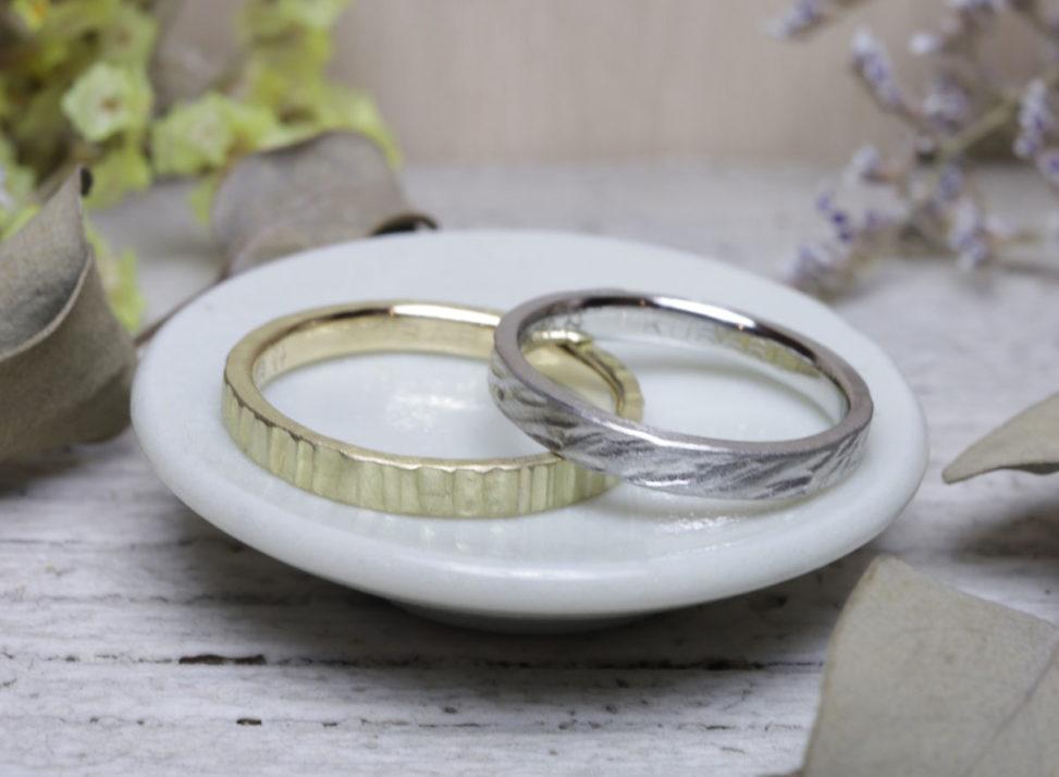 つちめの結婚指輪