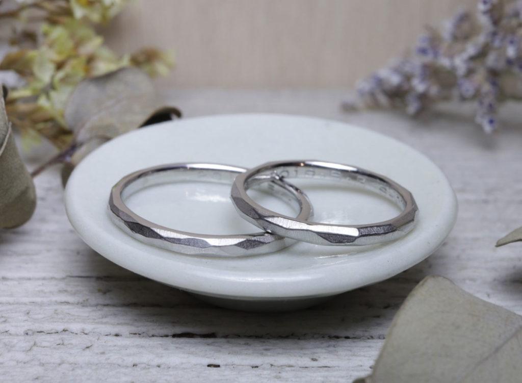 手作り結婚指輪 北九州