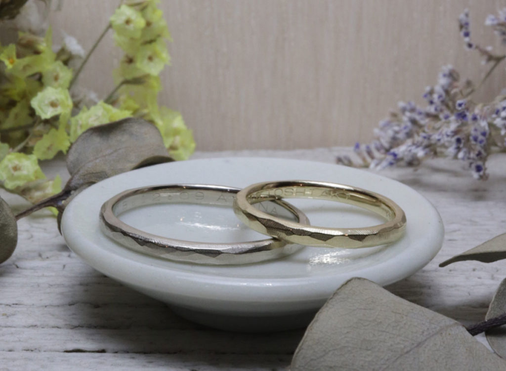 ナチュラル 結婚指輪 福岡