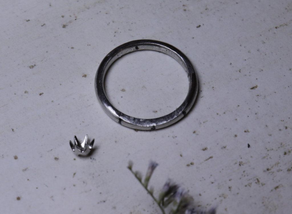 ダイヤ 指輪 作る