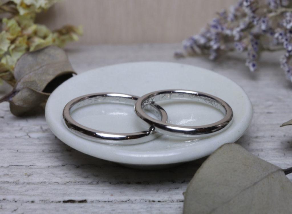 手作り 結婚指輪 大分