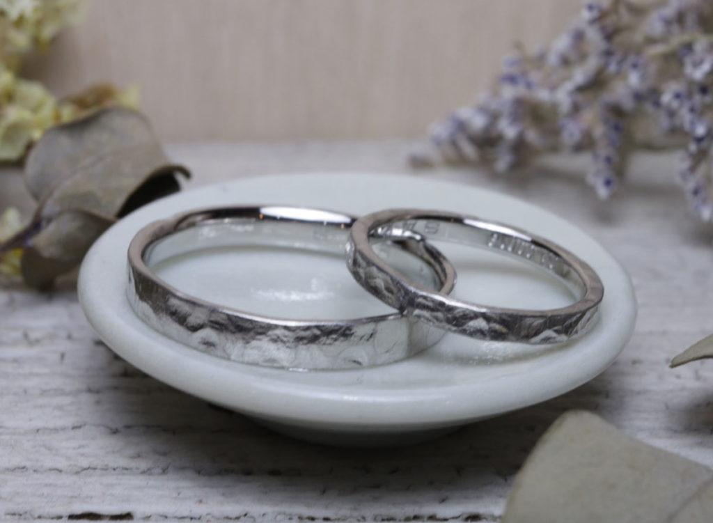 結婚指輪 九州 手作り