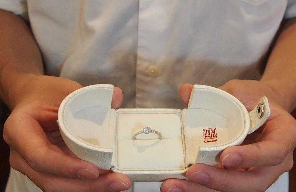 手づくり婚約指輪 プロポーズ