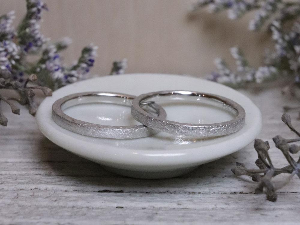 新婚旅行 指輪作り