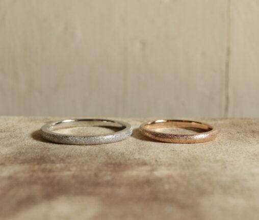 結婚指輪 手作り アンティーク