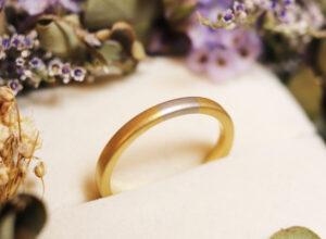 コンビ加工 手作り 結婚指輪